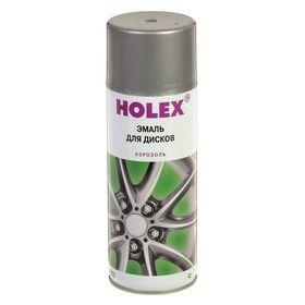 Эмаль для дисков HOLEX аэрозоль 520 мл, серебристая Ош