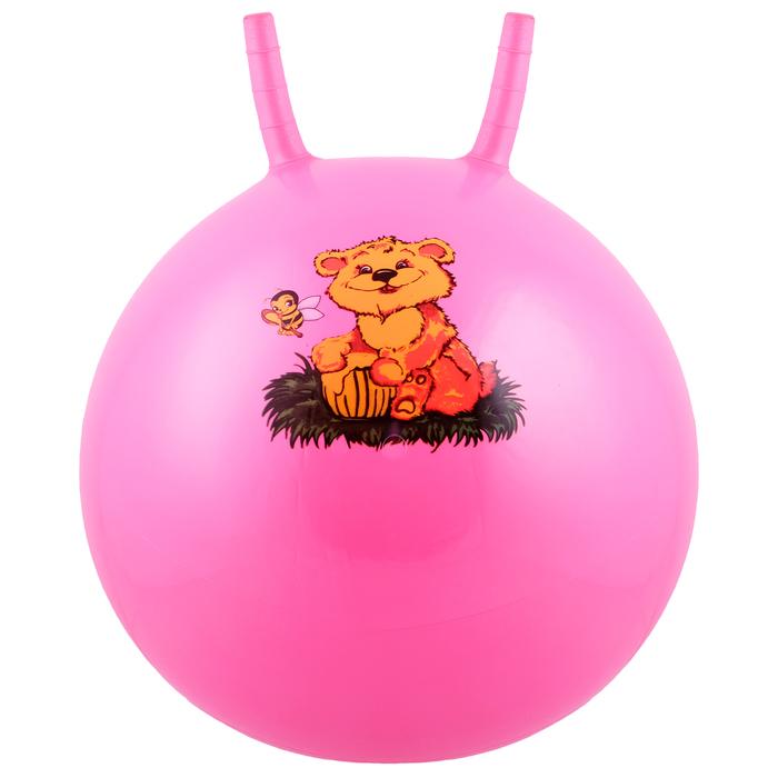 Мяч прыгун с рожками d45 см, 350 г, МИКС