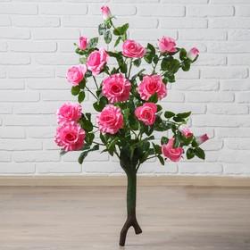 Куст искусственный 'Розы волнистые' 95 см, микс Ош