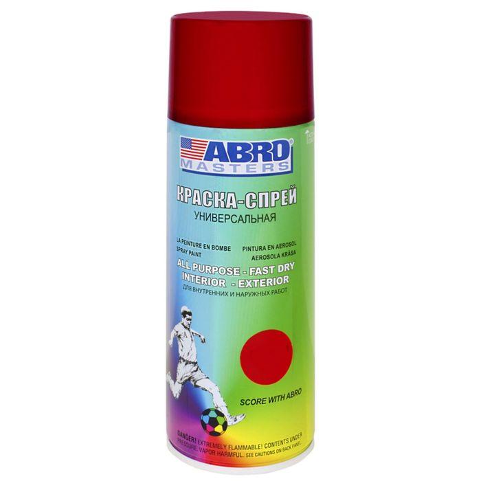 Краска-спрей ABRO MASTERS, 400 мл, вишневая SP-073-AM