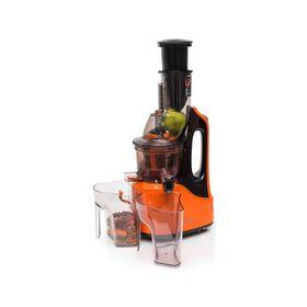Соковыжималка Oursson JM7002/GA, шнековая, 240 Вт, 65 об/мин, чёрно-оранжевая