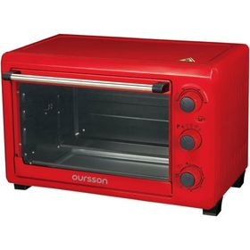 Мини-печь Oursson MO2610/RD, 1500 Вт, 26 л, 4 режима, регулировка температуры, красная