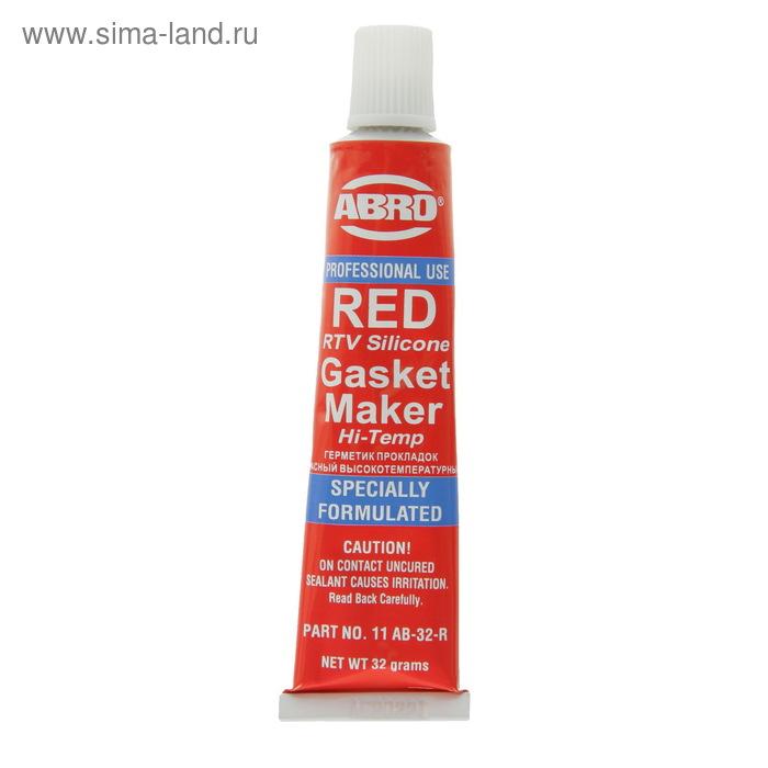 Герметик прокладок ABRO MASTERS красный, 32 г 11-AB-CH-32