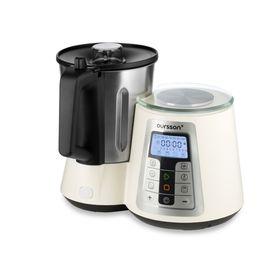 Кухонная машина Oursson KM1010HSD/IV, 1550 Вт, 13 режимов, регулировка температуры, белая Ош