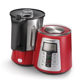 Кухонная машина Oursson KM1010HSD/RD, 1550 Вт, 13 режимов, регулировка температуры, красная Ош