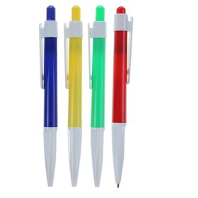 Ручка шариковая, автоматическая, «Профи», МИКС, стержень масляный синий 0.5 мм