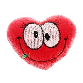 Мягкая игрушка-магнит «Сердце. Большие глазки»