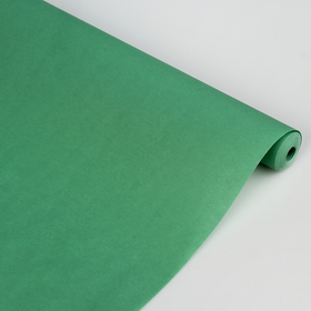 Калька для цветов 'Малахит', цвет зелёный, 0,5 х 10 м, 58 г/м2 Ош