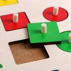 Рамка - вкладыш «Геометрические формы» 16 деталей - Фото 2