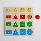 Рамка - вкладыш «Геометрические формы» 16 деталей - Фото 3
