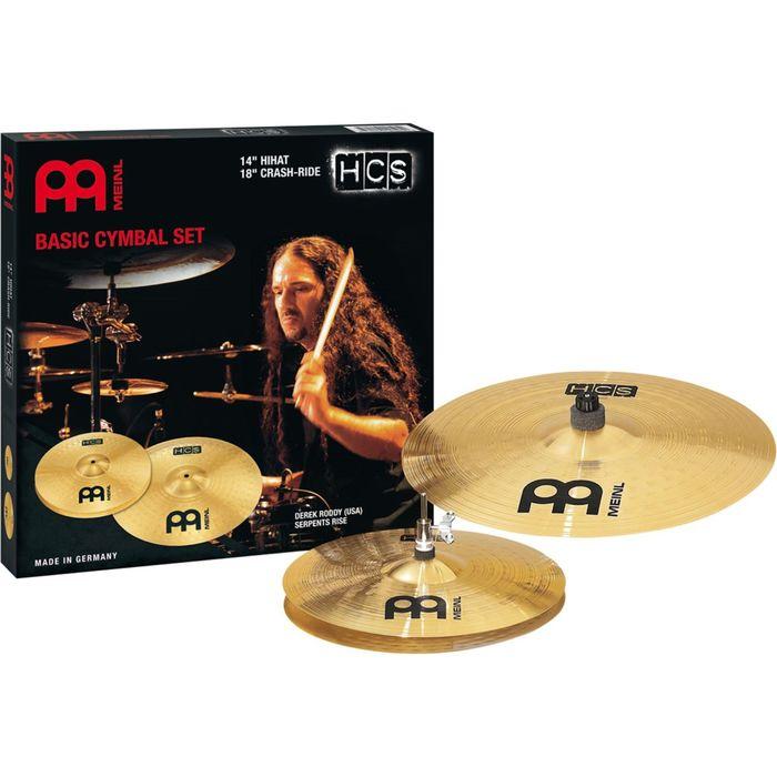 "Комплект тарелок Meinl HCS1418 HCS Basic Cymbal Set  14, 18"""