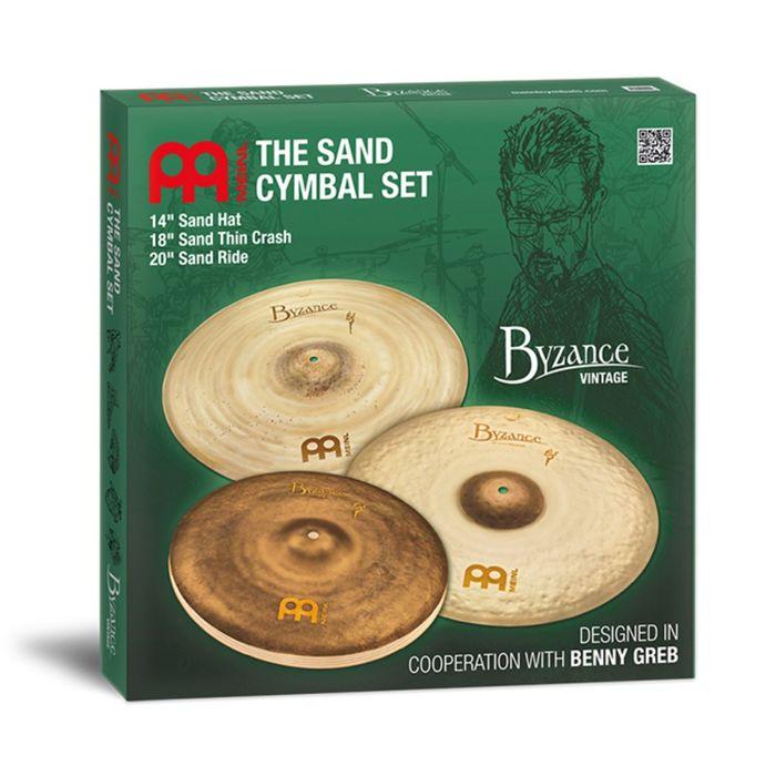 "Комплект тарелок Meinl BV-141820SA Byzance Vintage Sand Cymbal Set  14, 18, 20"""