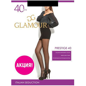 Колготки женские Prestige 40 цвет чёрный (nero), р-р 3