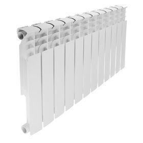 Радиатор биметаллический REMSAN Professional, 500х80 мм, 12 секций