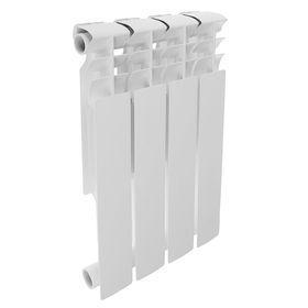 Радиатор биметаллический REMSAN Professional, 500х80 мм, 4 секции