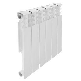 Радиатор биметаллический REMSAN Professional, 500х80 мм, 6 секций