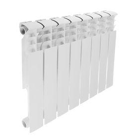 Радиатор биметаллический REMSAN Professional, 500х80 мм, 8 секций