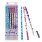 """Ручка """"пиши-стирай"""" гелевая Bloomy, игольчатый пишущий узел 0.5 мм, чернила синие, со стираемыми чернилами, МИКС"""