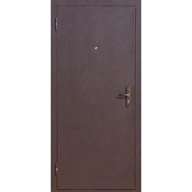 Дверь входная Стройгост 5-1 Металл-Металл 2060х880 (левая)