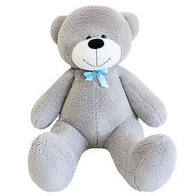 Мягкая игрушка «Мишка Фёдор», цвет серый, 150 см