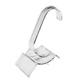 Подставка для часов, браслетов, основа 2,8*7,8 см, h=10,5 см, цвет прозрачный Ош