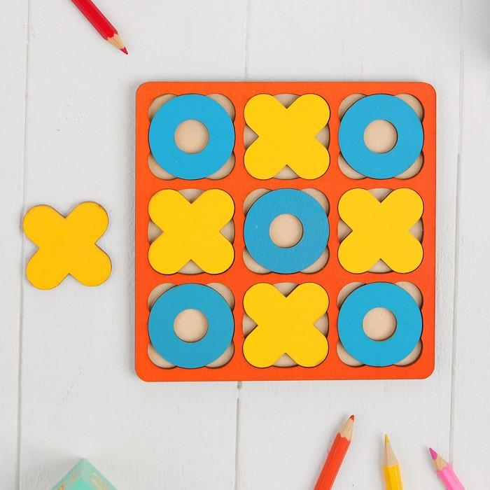 Рамка-вкладыш Крестики - нолики МИКС, 10 элементов