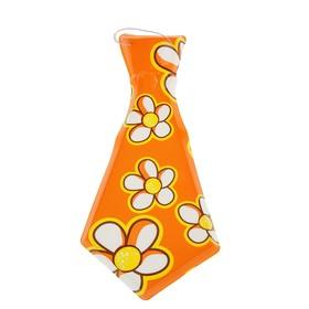 Карнавальный галстук «Лето», большой цветок, набор 6 шт. Ош