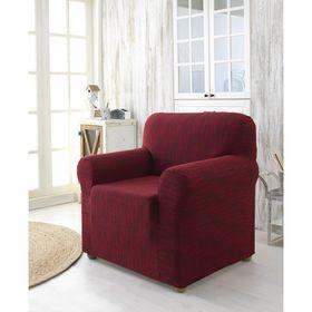 Чехол для кресла Roma, цвет бордовый 2687 Ош