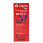 Фен DELTA DL-0904, 1400 Вт, 2 скорости, 1 температурный режим, черно-розовый - Фото 9