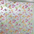 Штора для ванной La Vita, 180х200 см, бабочки