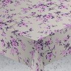 """Скатерть """"ALBA"""" Вальс цветов, 120х140 см, фиолетовый"""