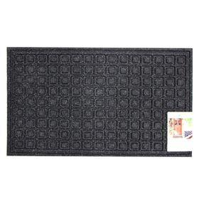 Коврик влаговпитывающий Textures Blocks Onyx 45х76 см