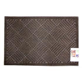Коврик влаговпитывающий Textures Crosshatch Walnut 60х91 см