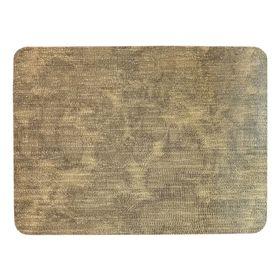 Салфетка на стол «Велюр», цвет золото, 30 х 40 см