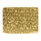 Салфетка на стол «Камушки», золото, 30 х 40 см