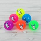 Мяч световой «Зайка», 5,5 см, цвета МИКС