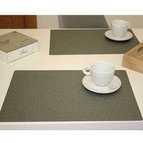 Салфетка Lino, размер 30 х 43 см, цвет серый