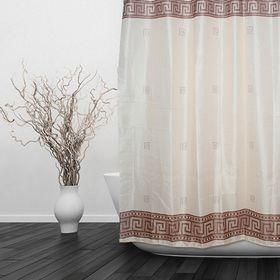 Штора для ванной «Орнамент», 180 х 180 см