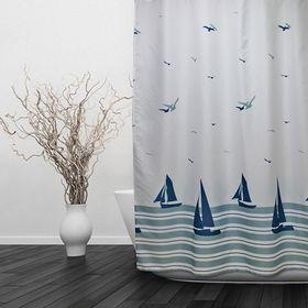 Штора для ванной «Парус», 180 х 180 см