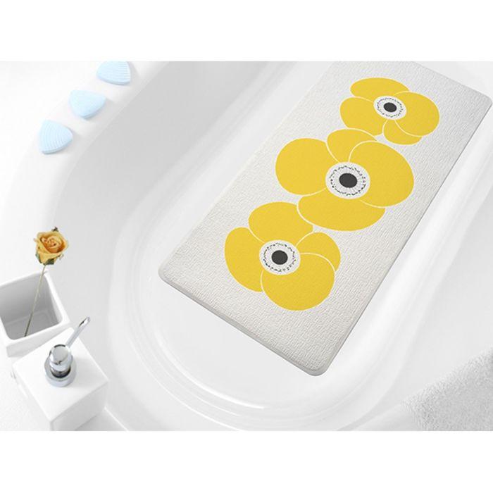 SPA-коврик в ванну Petunia, 36 х 71 см, оранжевый