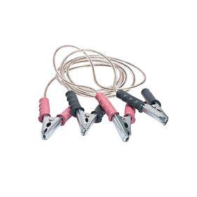 Провода пусковые 'ГЛАВДОР' 250А 2 м, медные, силиконовая обмотка Ош