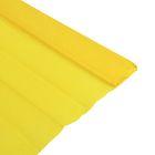 Бумага крепированная 50х200 см, плотность - 32 г/м, в рулоне, горчичный (80-46)