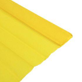 Бумага крепированная 50х200 см, плотность - 32 г/м, в рулоне, горчичный (80-46) Ош