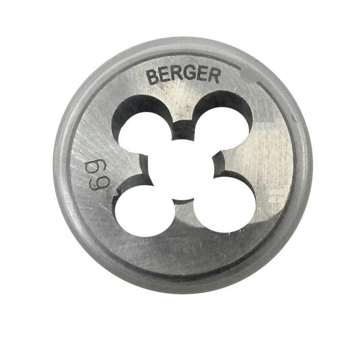 Плашка метрическая BERGER, М3х0,5 мм