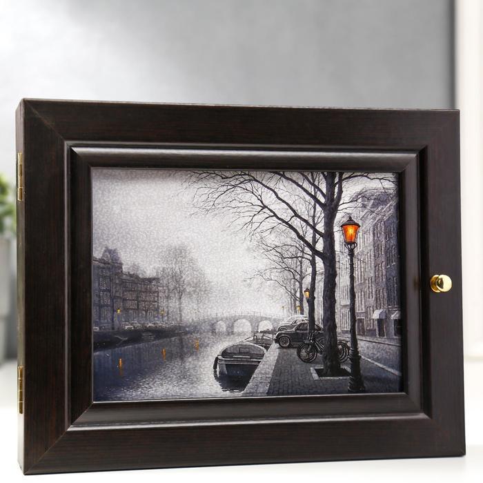 "Ключница ""Амстердам"", венге"