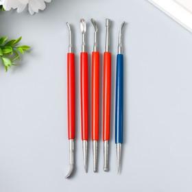 Инструменты для творчества набор 5 шт пластик, металл 16 см 17,5х7,5 см Ош