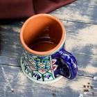 Бокал Риштанская Керамика 500 мл - Фото 3