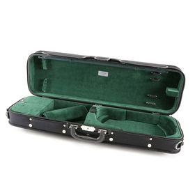 Футляр для скрипки Jakob Winter JW-3023-N-011  размером 4/4, деревянный, черный/зеленый