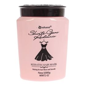 """Маска для волос """"Кератиновая"""" 1000 гр, цвет розовый"""