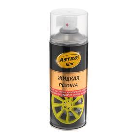 Жидкая резина Astrohim прозрачная, аэрозоль, 520 мл, АС - 652 Ош